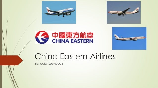 China Eastern Airlines Benedict Gombocz