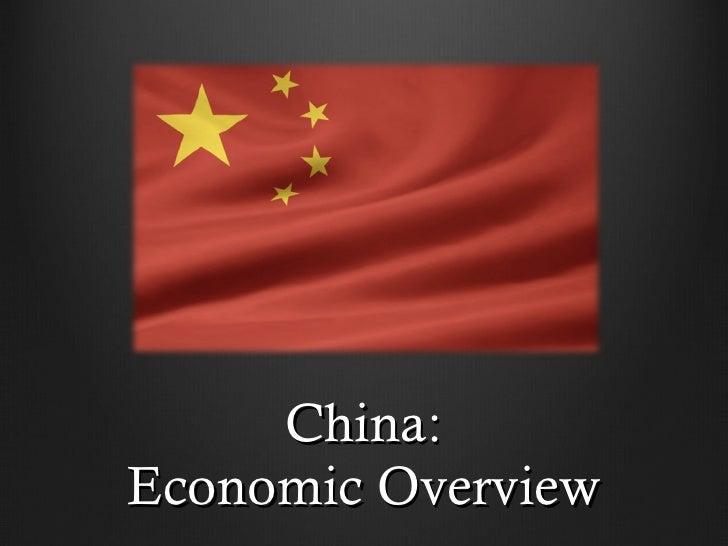 China: Economic Overview