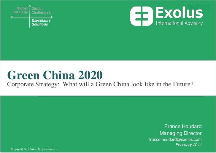 China Green Energy 2020