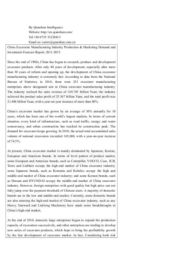By Qianzhan Intelligence Website: http://en.qianzhan.com/ Tel:+86 0755 33220413 Email us: carter@qianzhan.com.cn China Exc...