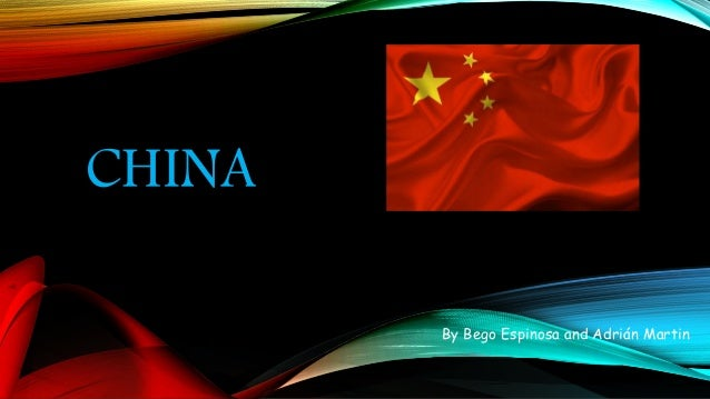 CHINA By Bego Espinosa and Adrián Martin
