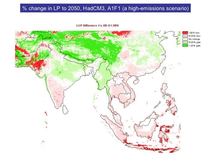 Areas within the LGA (arid-semiarid livestock) and MRA (arid-semiarid mixed) systems projected to undergo >20% reduction i...