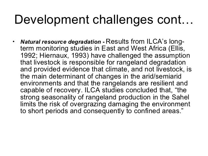 Research area     Opportunities for research Adaptation        Management practices: options to        • Rangeland managem...