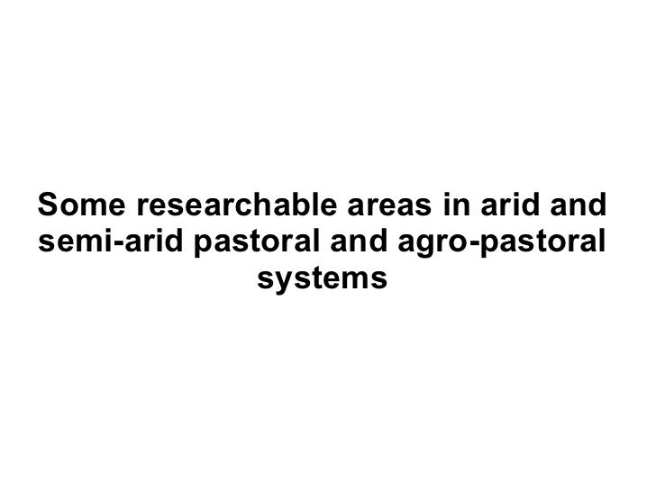 Research area     Opportunities for research Diversification   • Development of practical approaches to of income         ...