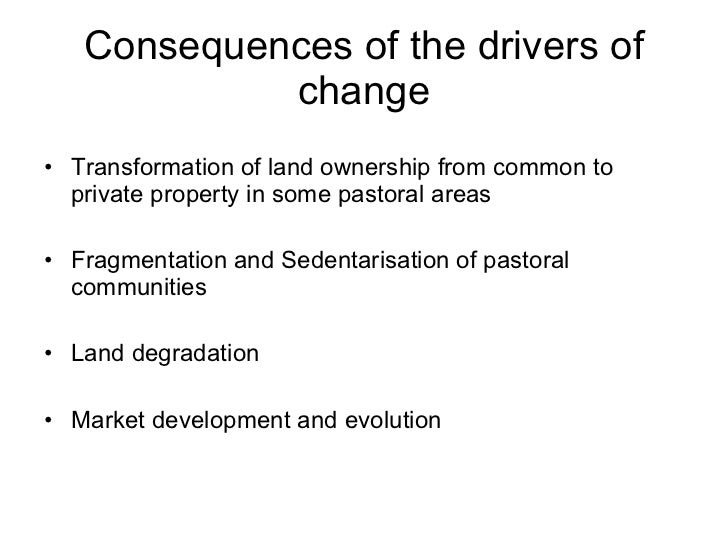 What are various scenarios  due to climate change?