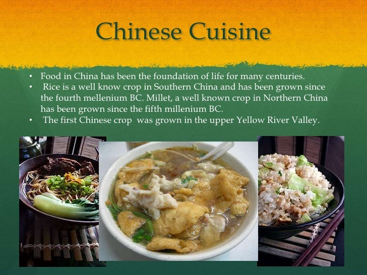 Ancient china for Asian cuisine history