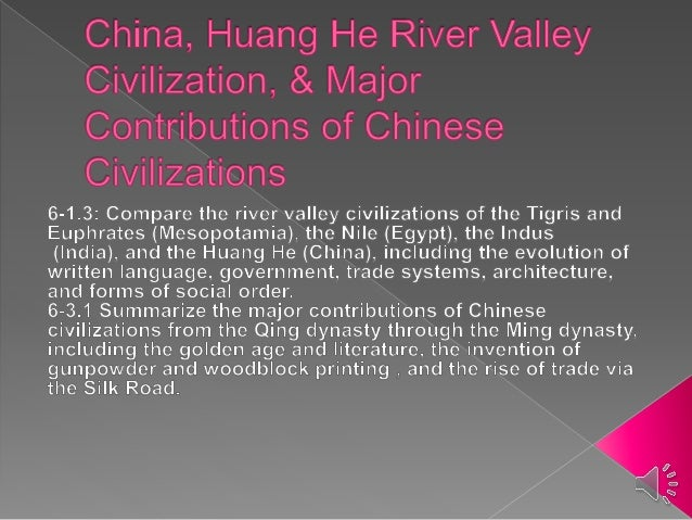 China huang he river valley civilization notes with sound a located on the huang he river in china yellow river b sciox Choice Image
