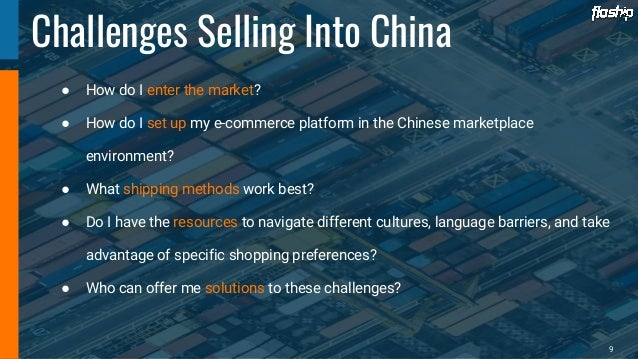 China eCommerce Opportunity with Floship [Sell to China]