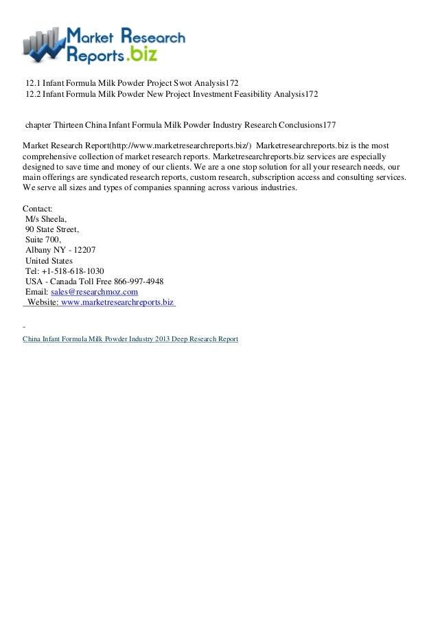 market research proposal infant formula Market research proposal - infant formula vietnam 1730 words market research brief & proposal 4539 words | 19 pages research brief contents: 1 background 2.