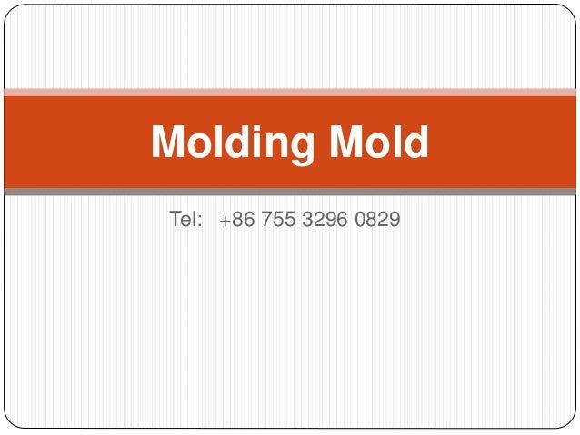 Tel: +86 755 3296 0829 Molding Mold