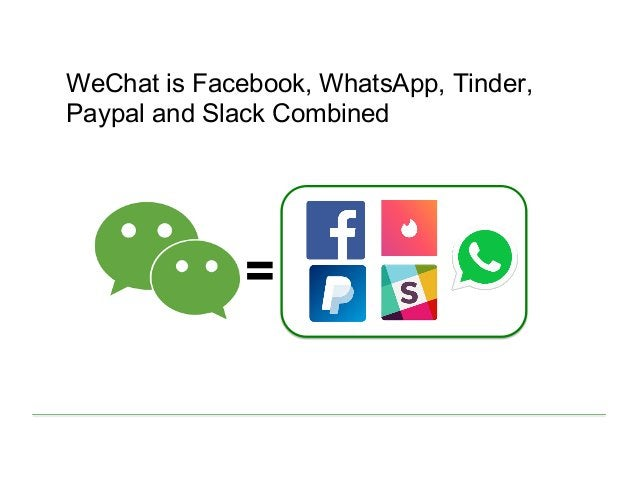 WeChat is Facebook, WhatsApp, Tinder, Paypal and Slack Combined =
