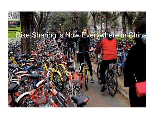 Bike Sharing is Now Everywhere in China