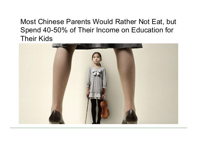 Most Chinese Parents Would Rather Not Eat, but Spend 40-50% of Their Income on Education for Their Kids