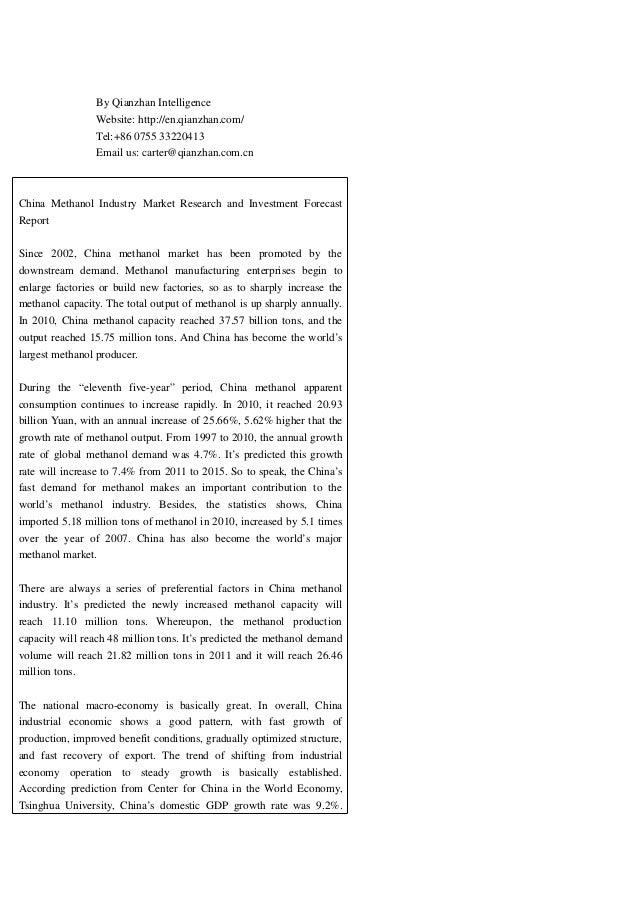 By Qianzhan Intelligence Website: http://en.qianzhan.com/ Tel:+86 0755 33220413 Email us: carter@qianzhan.com.cn China Met...