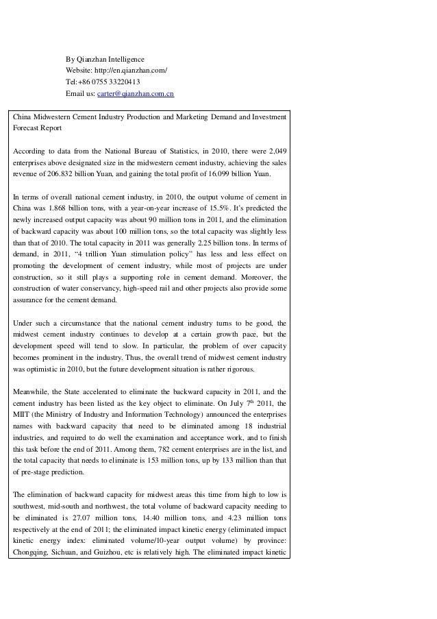 By Qianzhan Intelligence Website: http://en.qianzhan.com/ Tel:+86 0755 33220413 Email us: carter@qianzhan.com.cn China Mid...