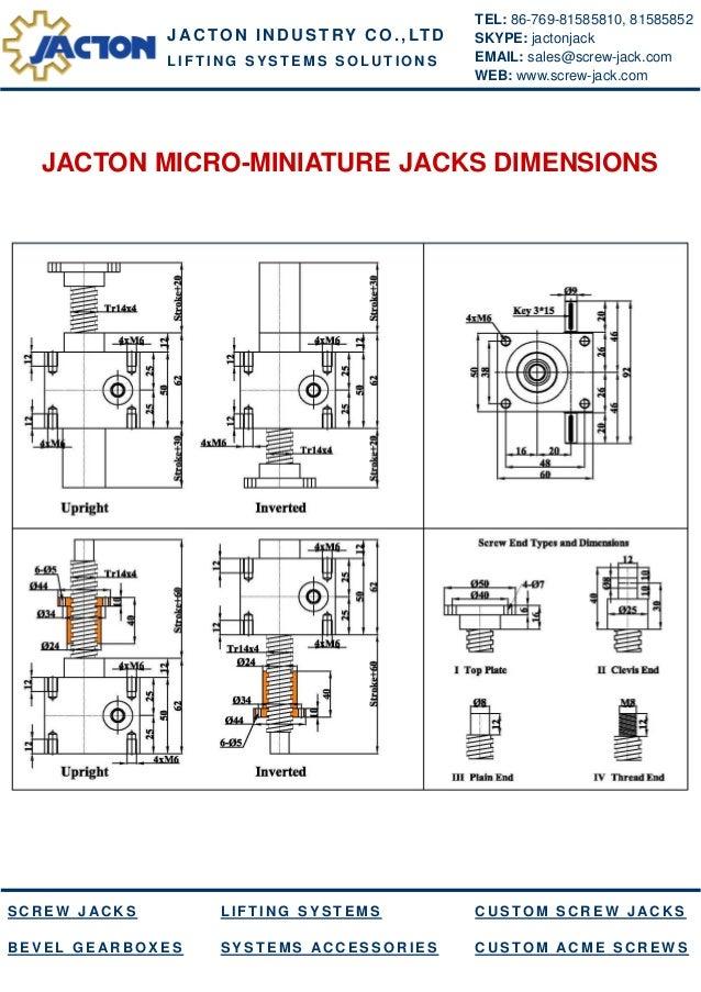 China mini machine screw jack, micro worm screw jack, small worm gear jack, acme miniature screw jack manufacturers and suppliers Slide 2