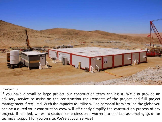 Construction If you have a small or large project our construction team can assist. We also provide an advisory service to...