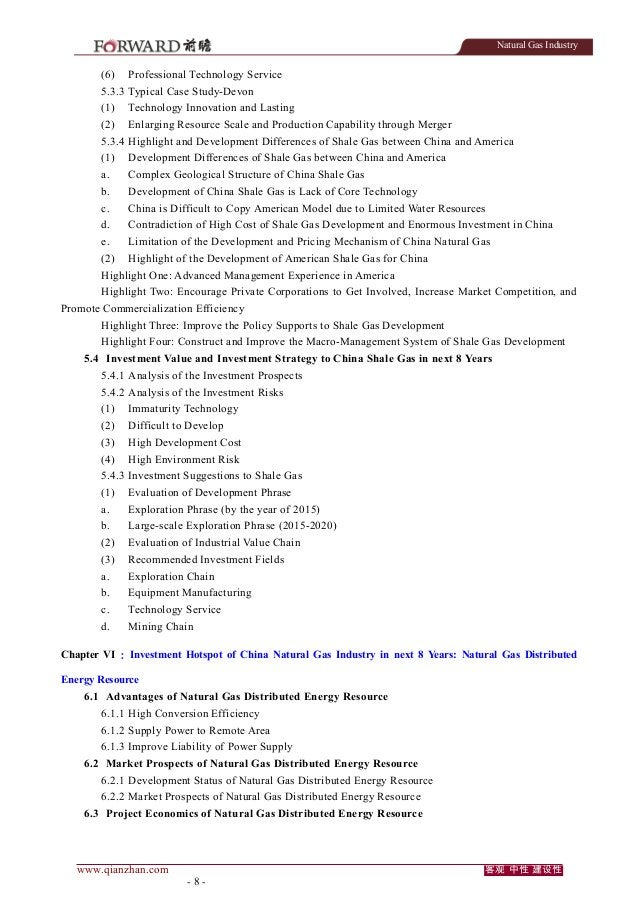 Natural Gas Industry  (6)  Professional Technology Service  5.3.3 Typical Case Study-Devon (1)  Technology Innovation and ...