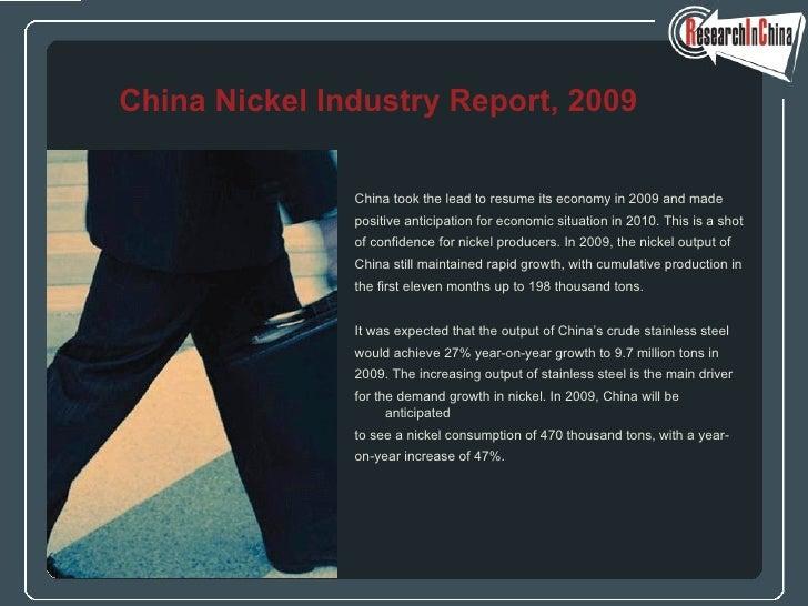 <ul><li>China took the lead to resume its economy in 2009 and made  </li></ul><ul><li>positive anticipation for economic s...