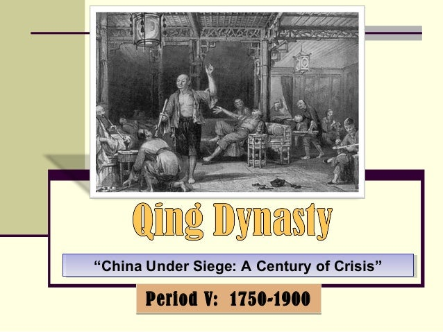 """""""China Under Siege: """"China Under Siege: AA CCeennttuurryy ooff CCrriissiiss""""""""  PPeerriioodd VV:: 11775500--11990000"""