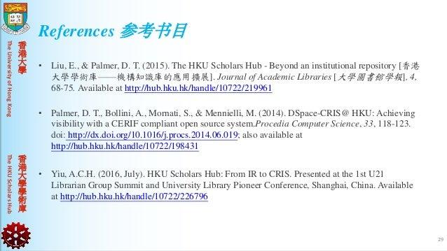 TheUniversityofHongKongTheHKUScholarsHub 香 港 大 學 香 港 大 學 學 術 庫 • Liu, E., & Palmer, D. T. (2015). The HKU Scholars Hub - B...
