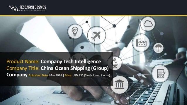 CHINA OCEAN SHIPPING (GROUP) COMPANY Company Profile