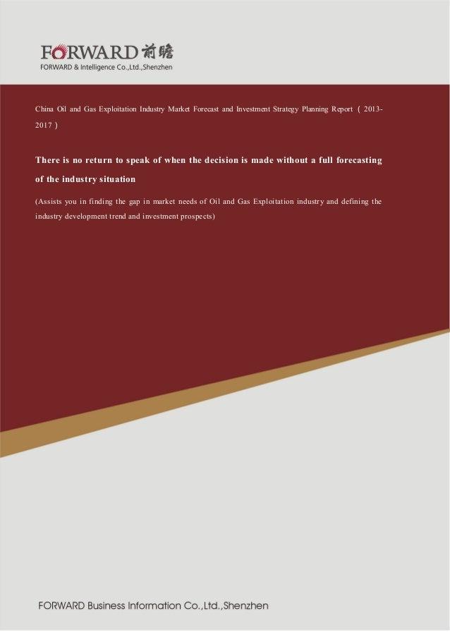 业  紧固件制造行  2011 版  China Oil and Gas Exploitation Industry Market Forecast and Investment Strategy Planning Report ( 20132...
