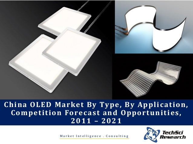China oled market by type, by application, competition ...