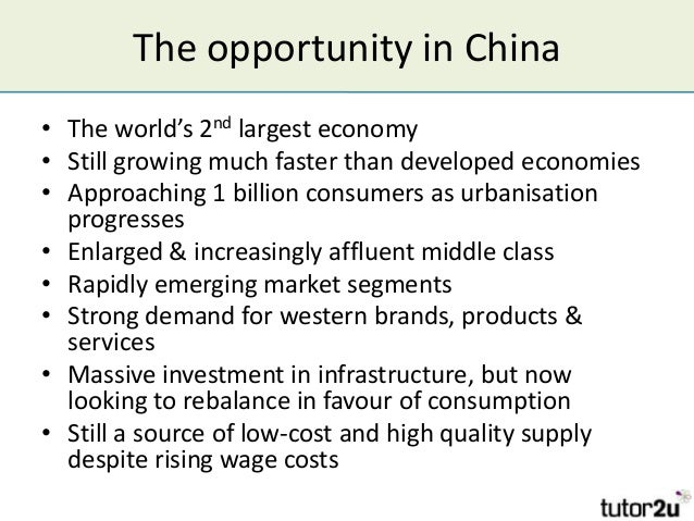 Opportunity for Lvmh in China