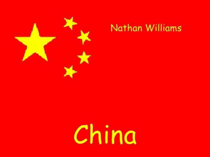 Nathan Williams China