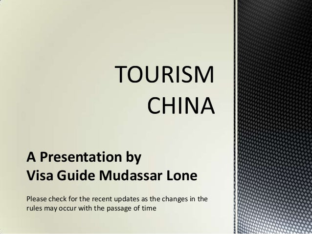 A Presentation byVisa Guide Mudassar LonePlease check for the recent updates as the changes in therules may occur with the...