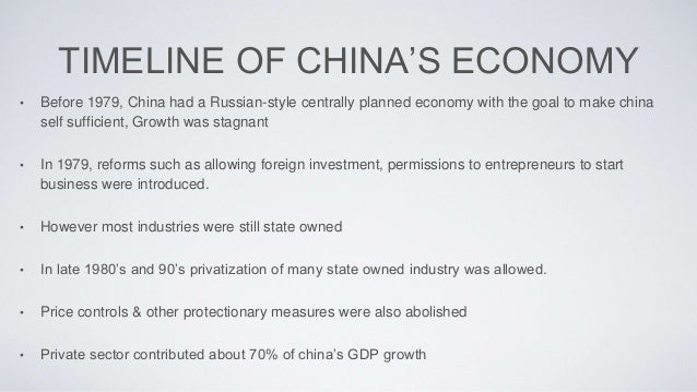 The Chinese economy at a glance