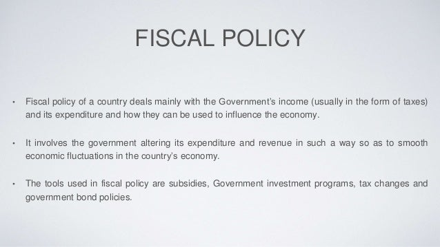 fiscal policy 3 essay Guide to the hsc economics fiscal policy essay in this guide i will be focusing on what needs to be included for an essay on fiscal policy, or more specifically the federal budget.