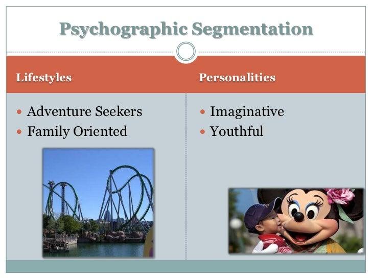 demographic segmentation of disney land paris Geographic segmentation refers to a region of a country or the world,   demographic segmentation refers to age, gender, income, ethnic.