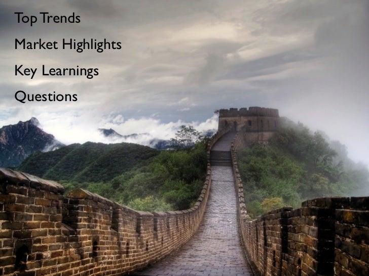 China market spotlight 2011 for Hemisphere Slide 2