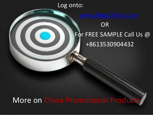 China Promotional Products