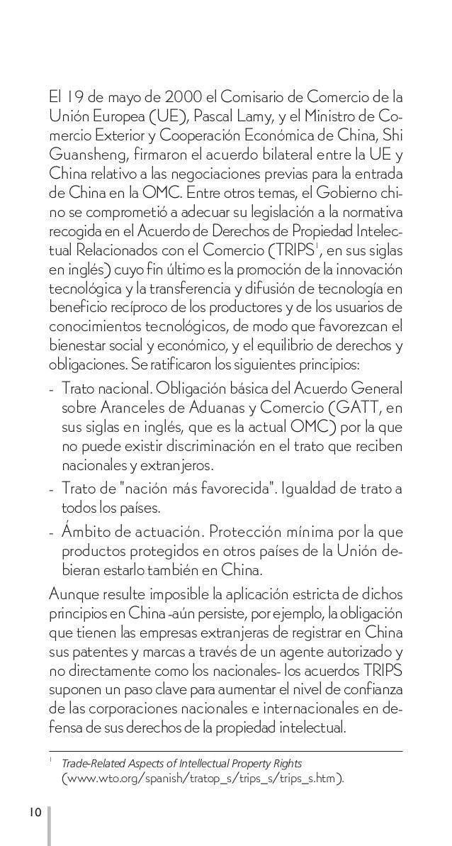 El 19 de mayo de 2000 el Comisario de Comercio de la     Unión Europea (UE), Pascal Lamy, y el Ministro de Co-     mercio ...