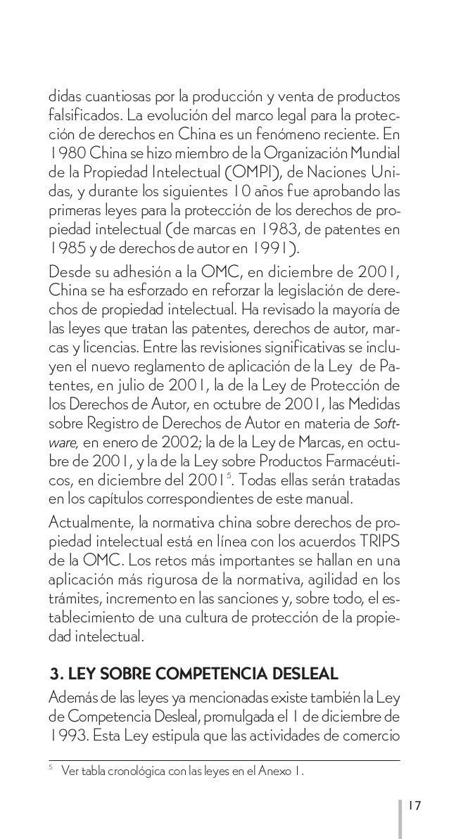 didas cuantiosas por la producción y venta de productosfalsificados. La evolución del marco legal para la protec-ción de d...
