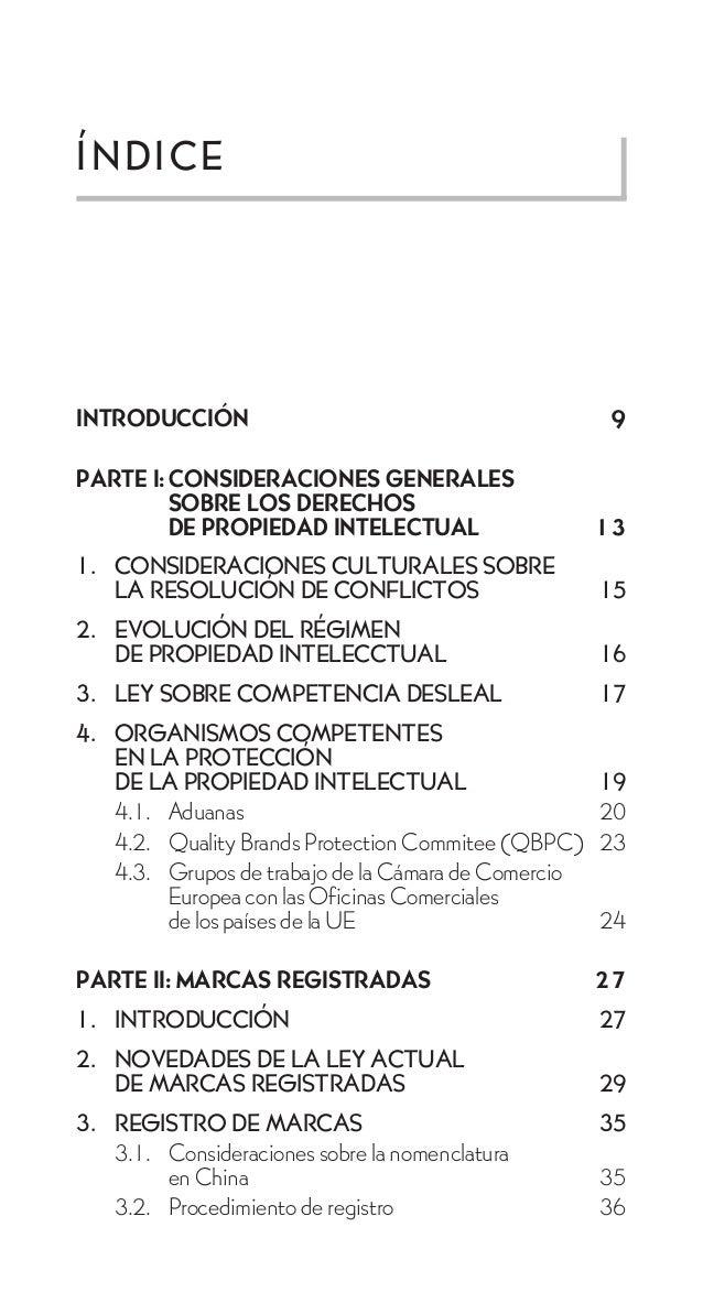 ÍNDICEINTRODUCCIÓN                                          9PARTE I: CONSIDERACIONES GENERALES         SOBRE LOS DERECHOS...