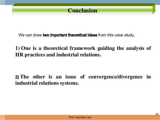 convergence and divergent theory in industrial relationship