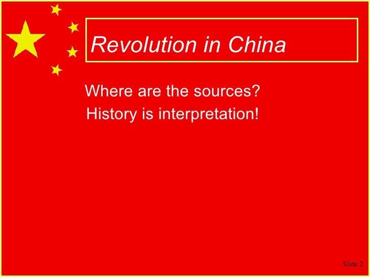 Chinese Revolution & Mao Slide 2