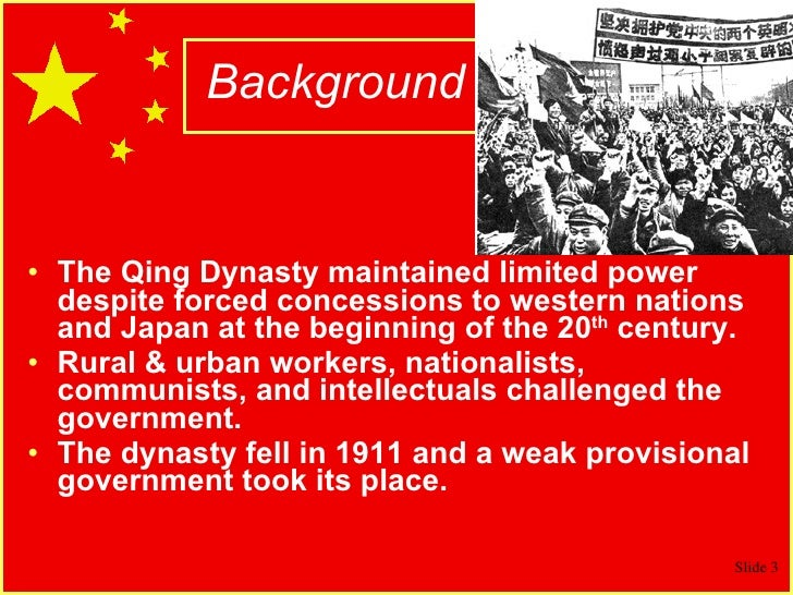 Chinese Revolution & Mao Slide 3
