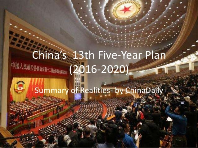 Five-year plans of China