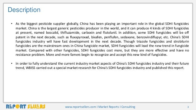 China sdhi fungicides market Trends, Forecast, and Analysis