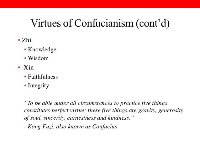 Comparing the Views of Confucius and Aristotle