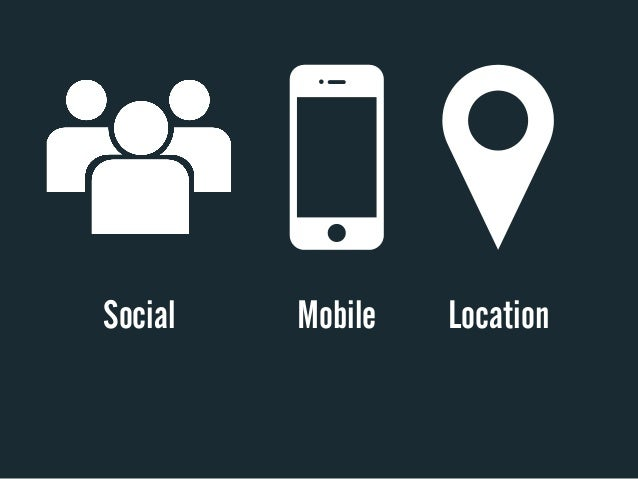 Social   Mobile   Location
