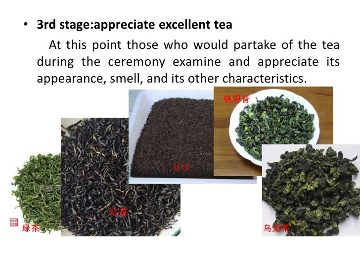 There were even competitions among tea connoisseurs and on the quality of the tea leaves, water. <br />The art of making c...