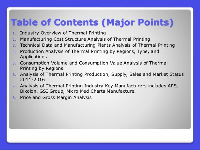 China Thermal Printing Market 2016:Industry Trends and Analysis Slide 3