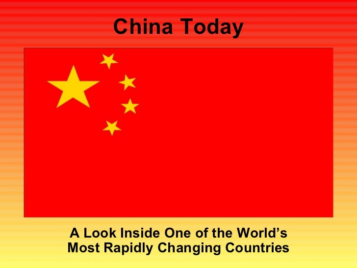 China Today A Look Inside One of the World's Most Rapidly Changing Countries
