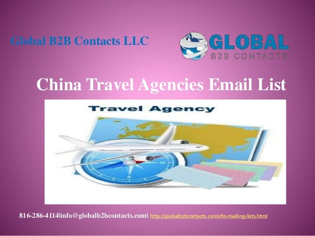 China travel agencies email list